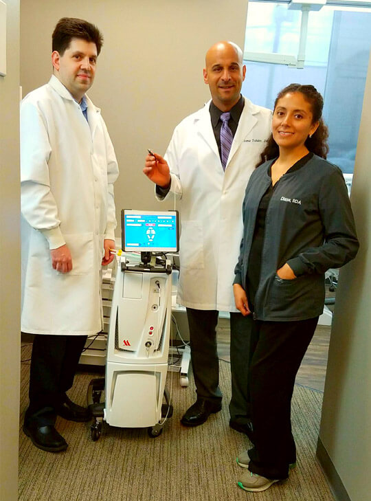 Roselle Park Dentist with LANAP machine